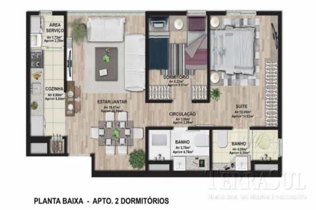 Ibiza - Apto 2 Dorm, Cavalhada, Porto Alegre (CAV682) - Foto 11