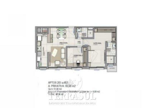 Palazzo Di Roma - Apto 2 Dorm, Tristeza, Porto Alegre (TZ9517) - Foto 3