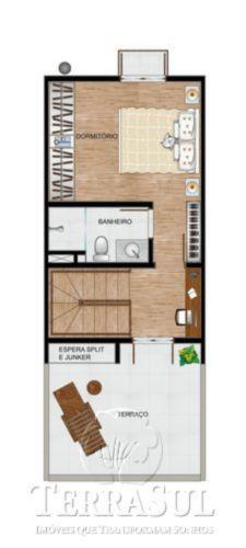 Casa 2 Dorm, Guarujá, Porto Alegre (GUA1613) - Foto 4